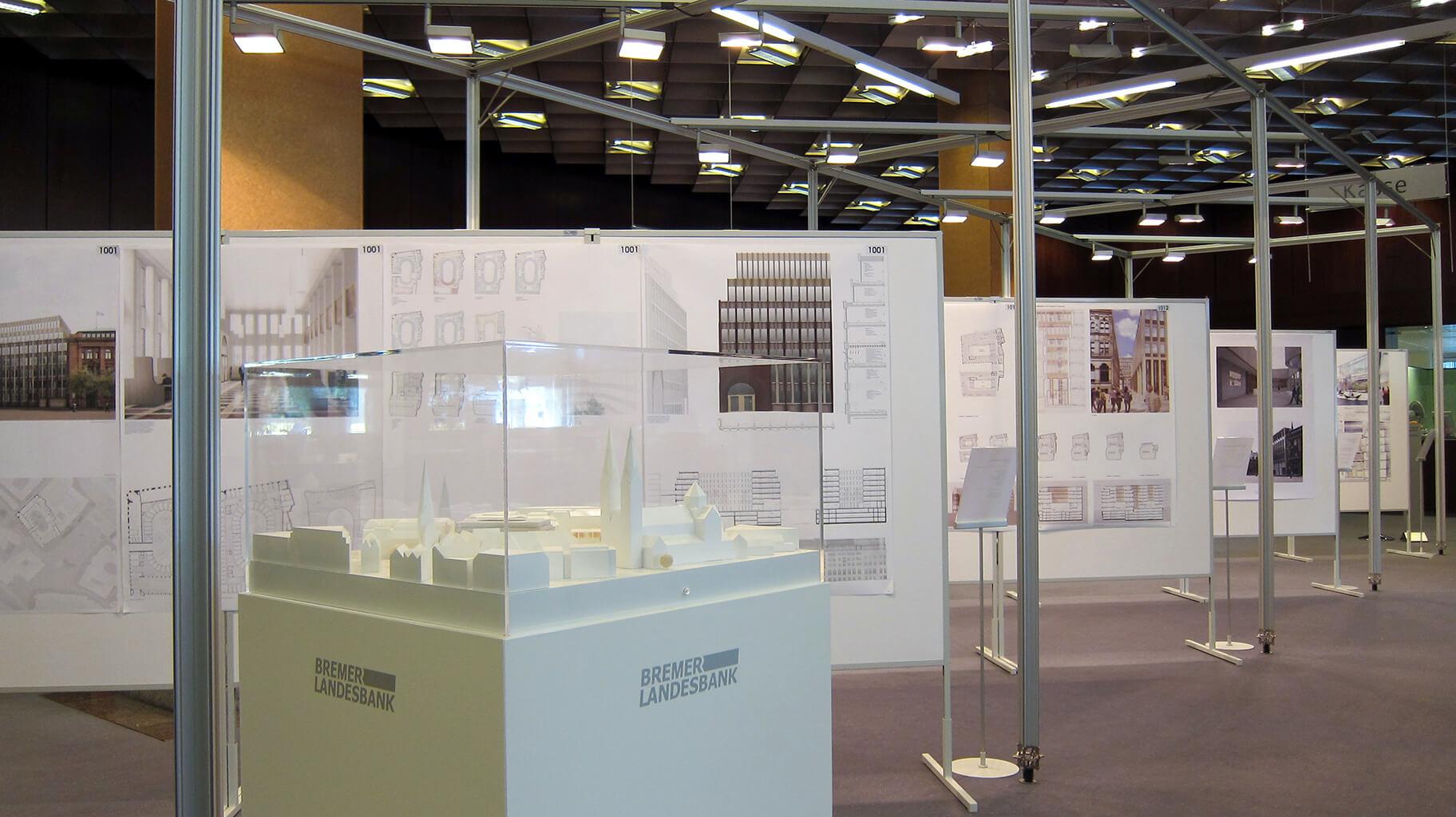 Anka Werbung - Messebau Bremen - Ausstellungen (BLB Architektenwettbewerb)