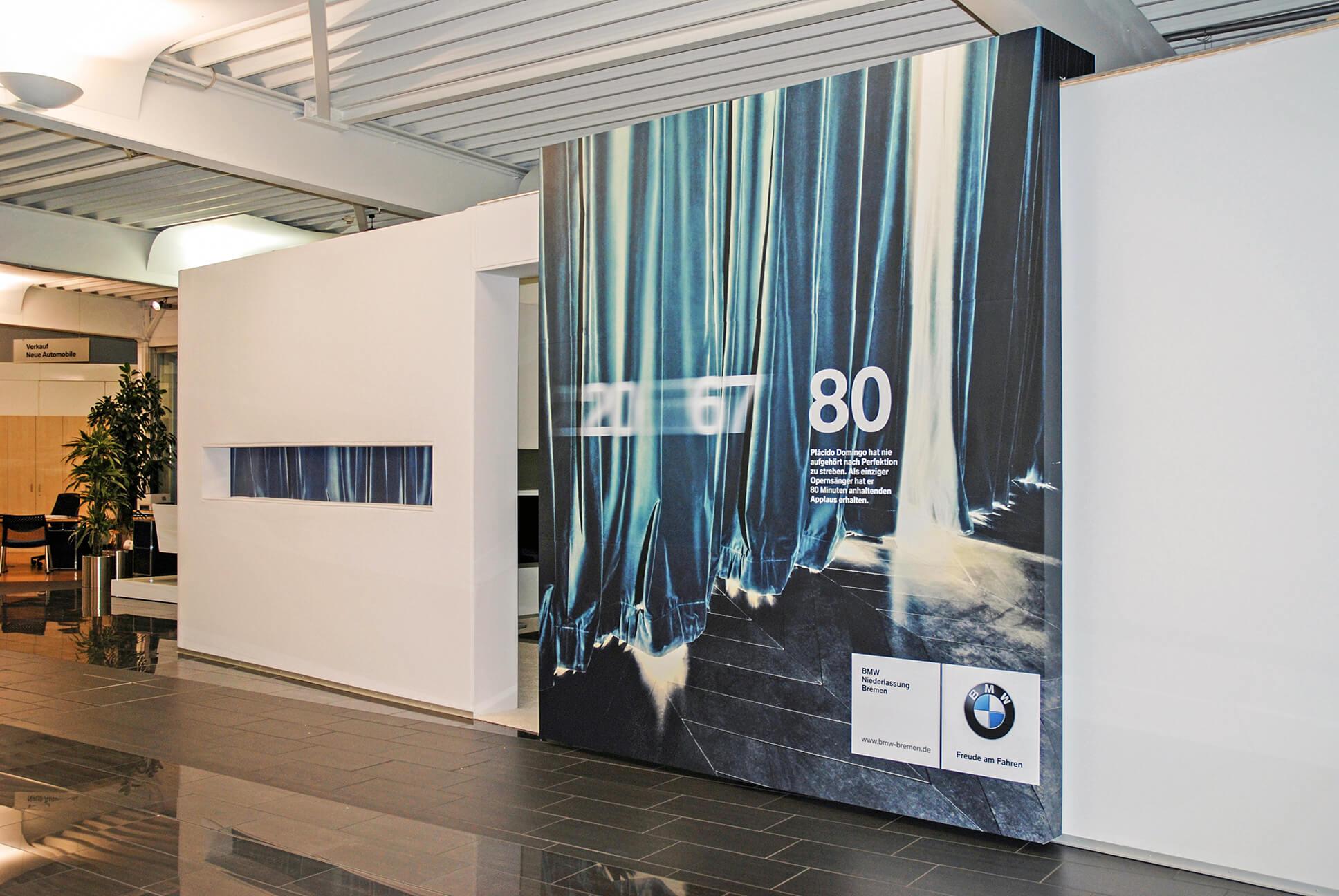 Anka Werbung - Messebau Bremen - Ausstellungen (BMW Modellpräsentation)