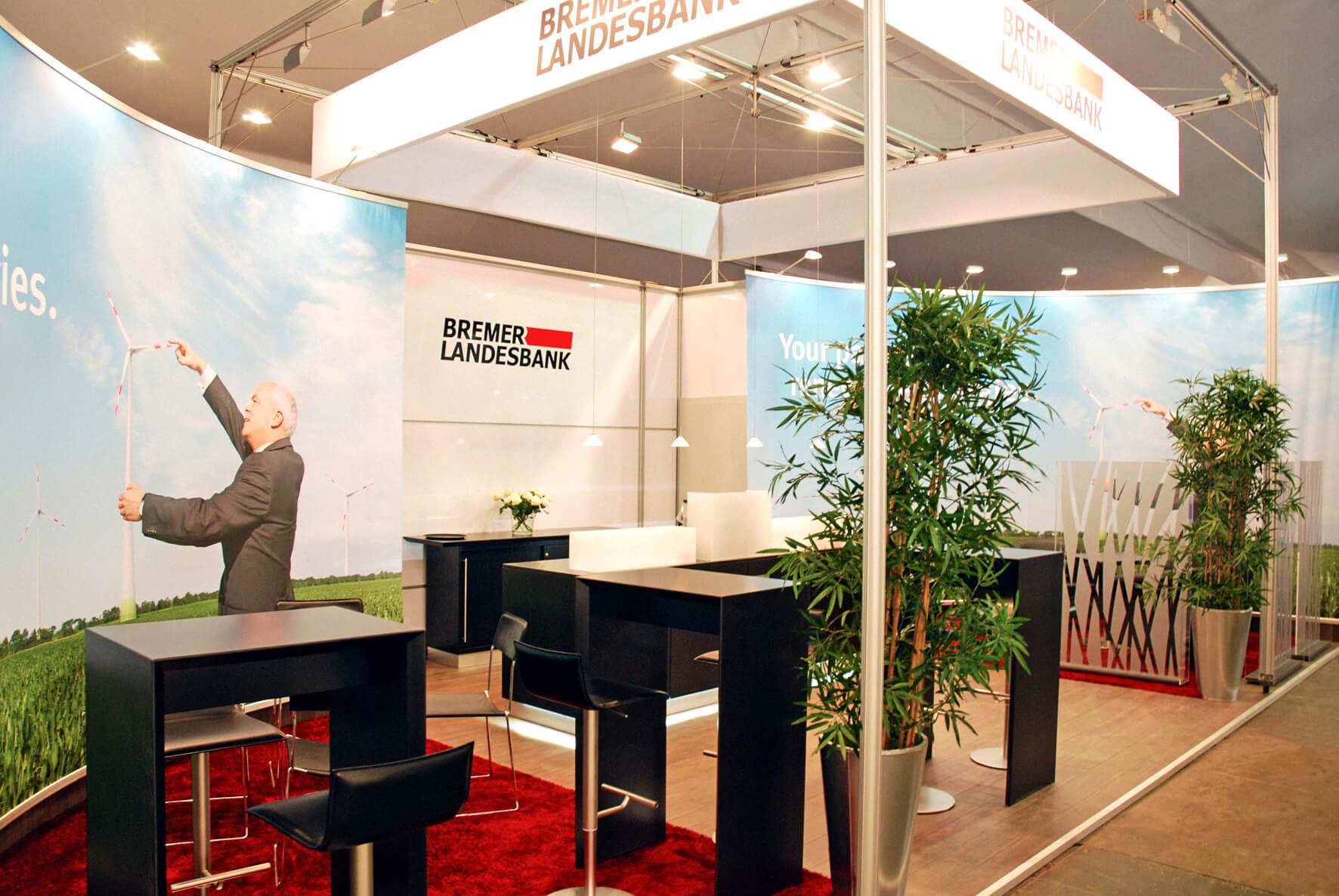Anka Werbung - Messebau Bremen - Messebau (BLB Windenergie)