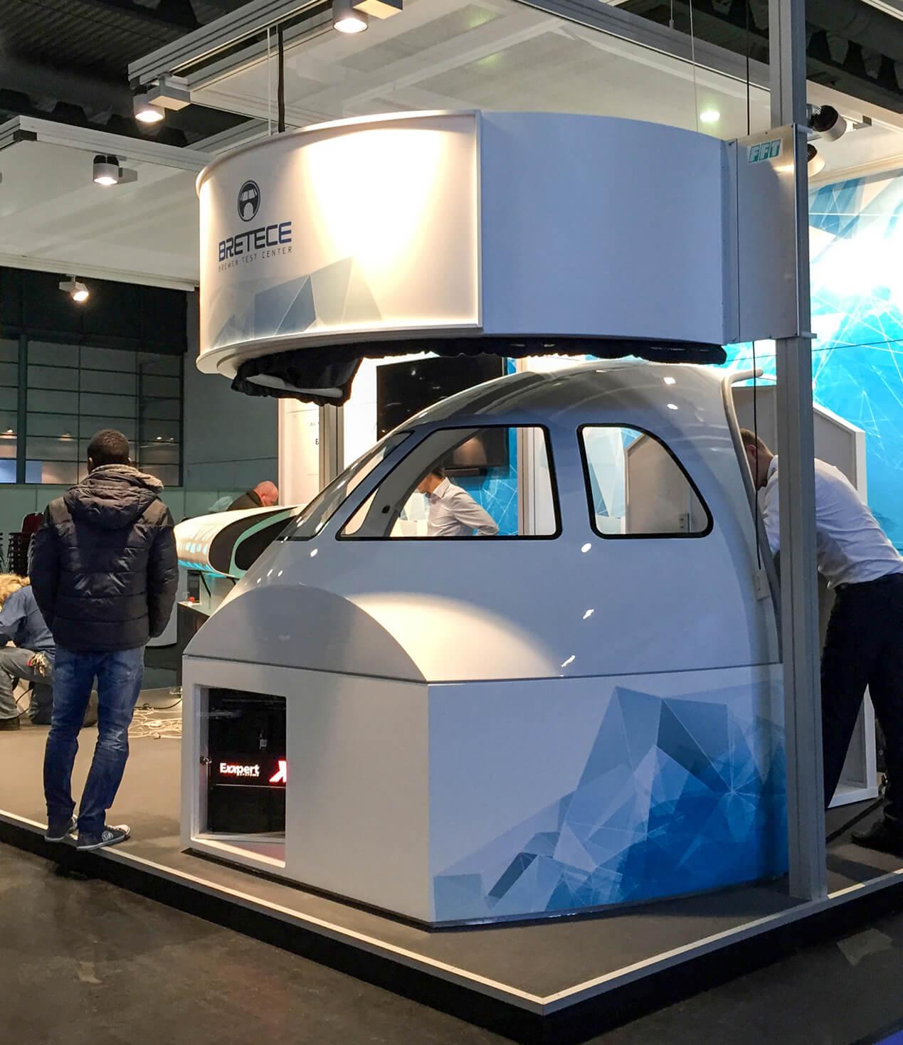 Anka Werbung - Messebau Bremen - Messebau (Exxpert Space Tech Expo)