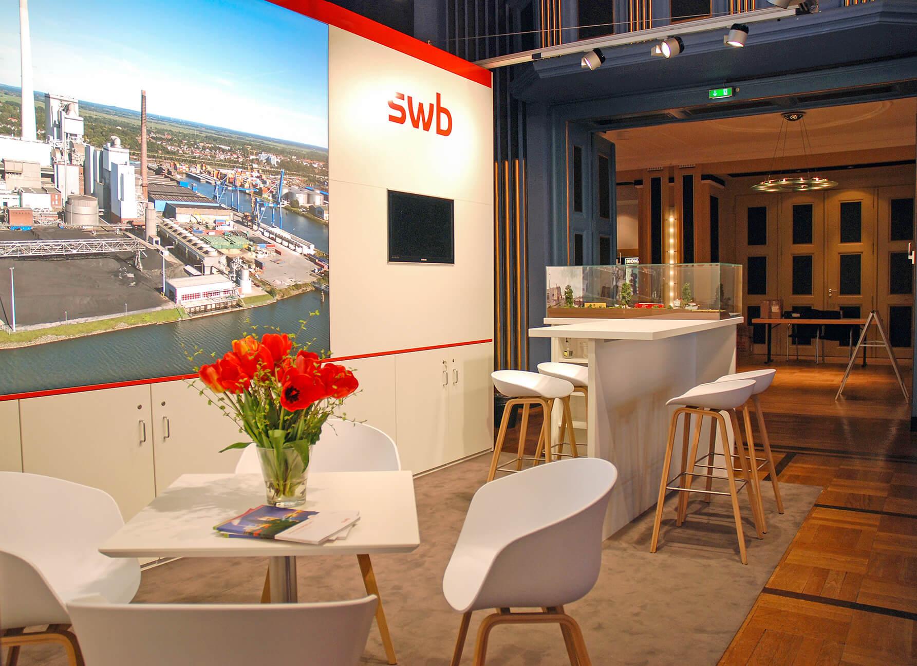 Anka Werbung - Messebau Bremen - Messebau (swb Bioenergieforum)
