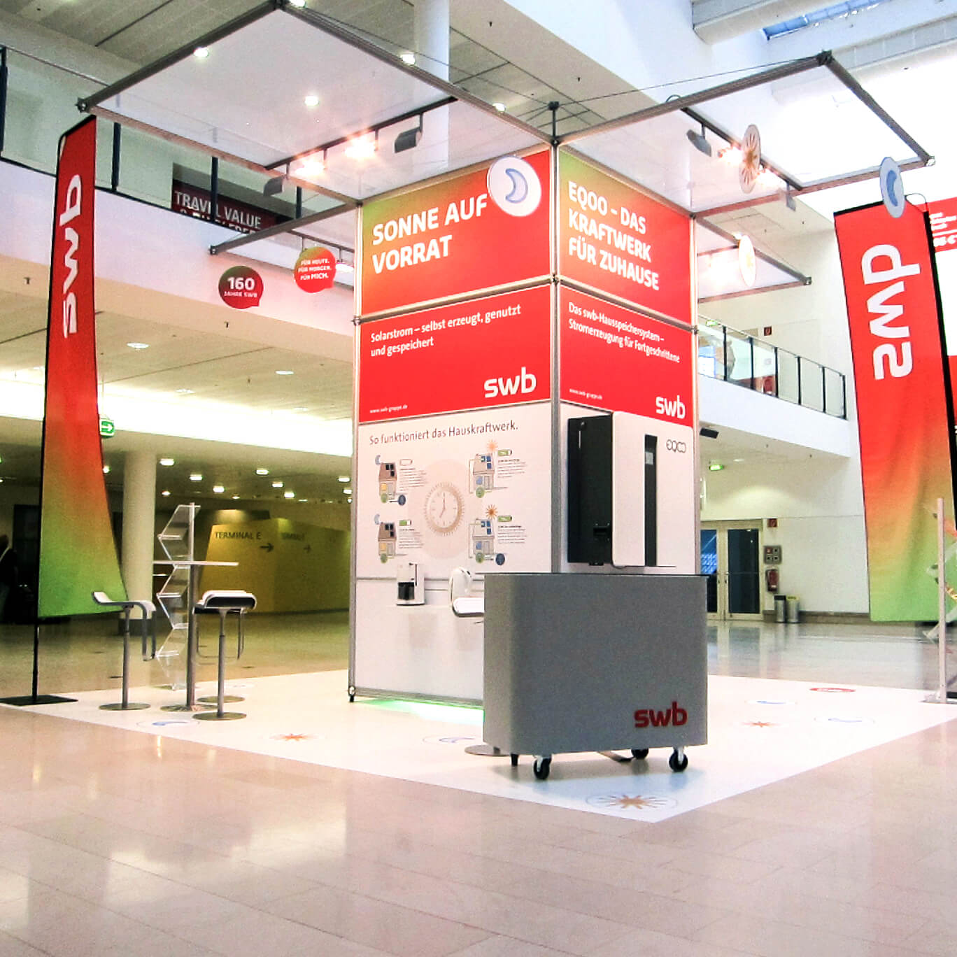 Anka Werbung - Messebau Bremen - Messebau (swb Tag der Technik)