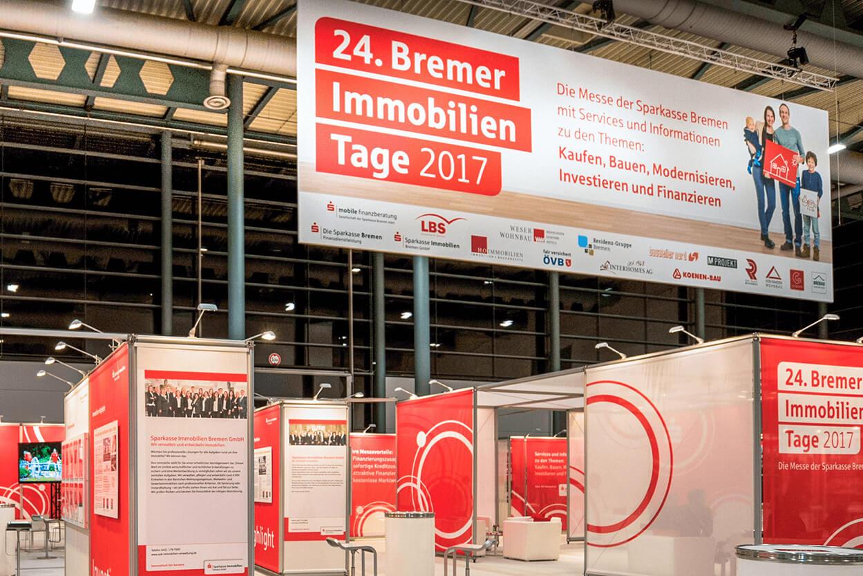 Anka Werbung - Messebau Bremen - Werbetechnik Banner