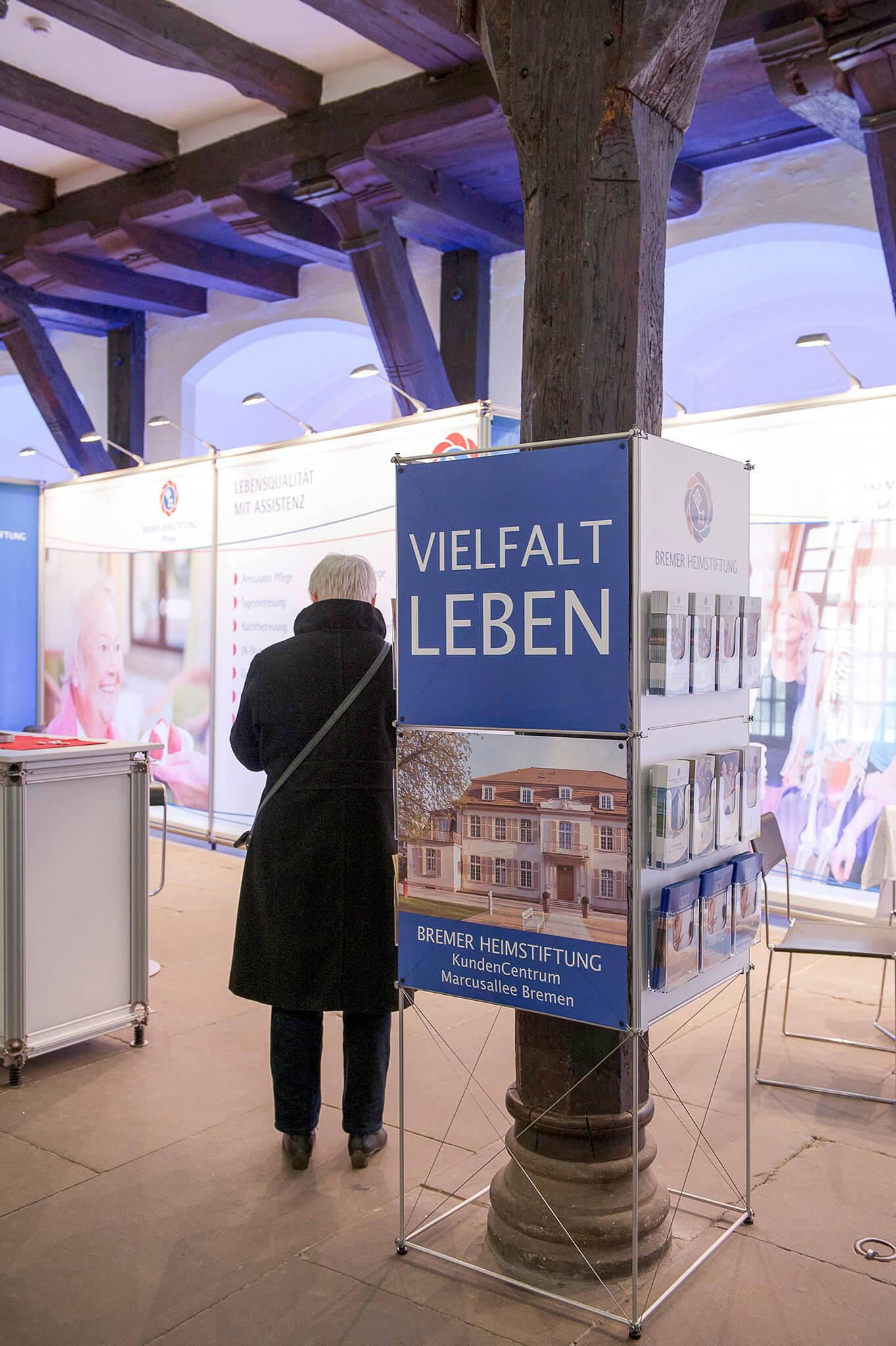 Anka Werbung - Messebau Bremen - Ausstellungen (Bremer Heimstiftung)