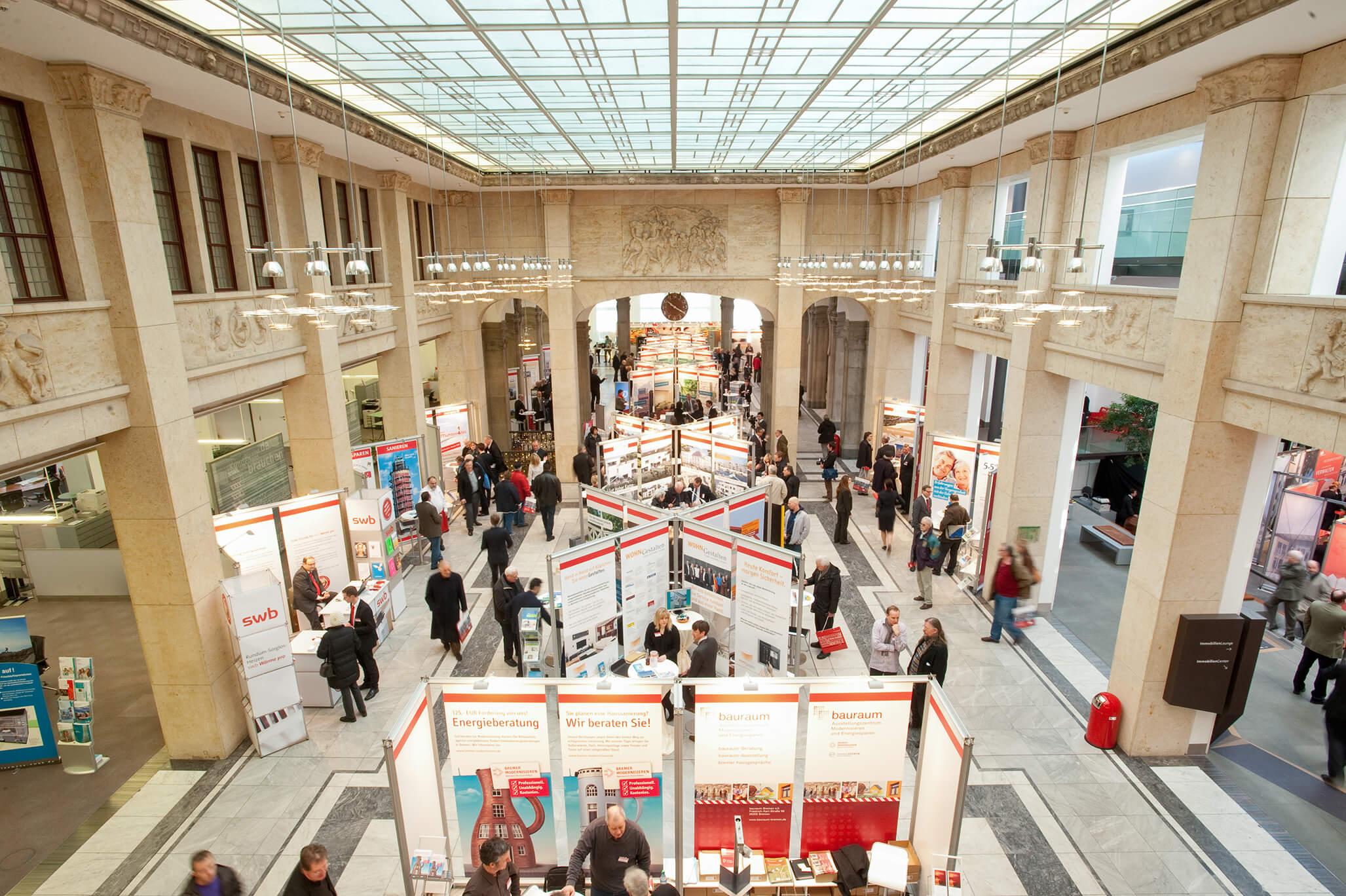 Anka Werbung - Messebau Bremen - Ausstellungen (Sparkasse Bremer Immobilientage 2011)