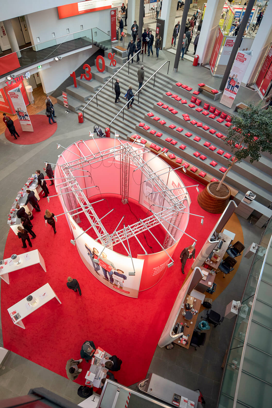 Anka Werbung - Messebau Bremen - Ausstellungen (Sparkasse Bremer Immobilientage 2015)
