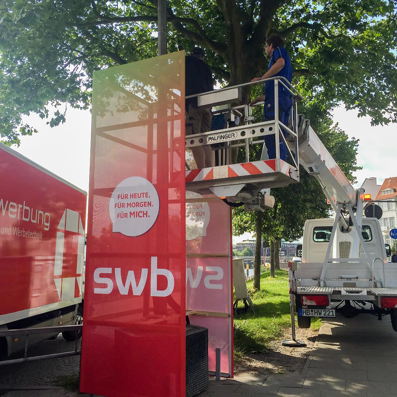 Anka Werbung - Messebau Bremen - Ausstellungen (swb Breminale)
