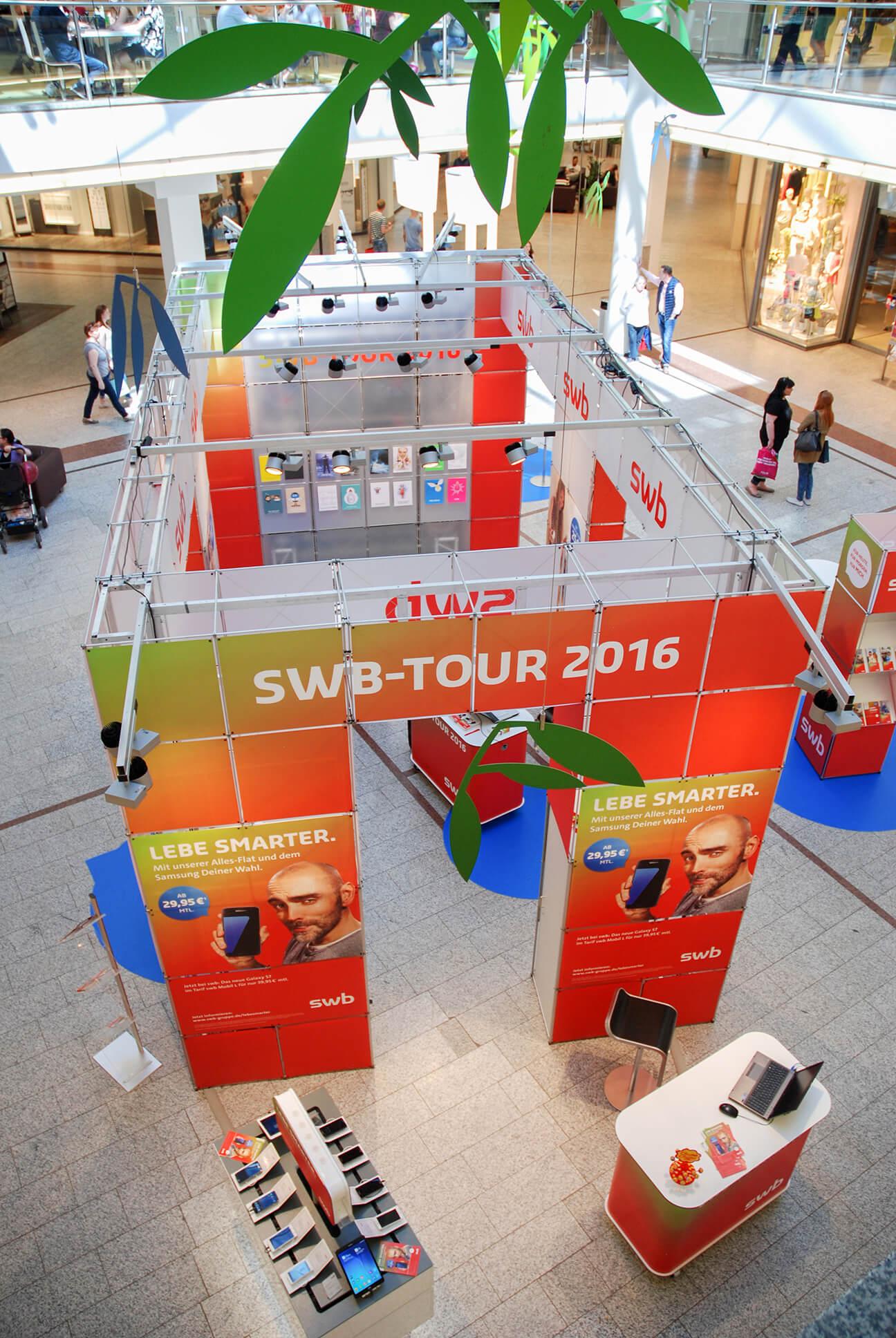Anka Werbung - Messebau Bremen - Ausstellungen (swb Tour)