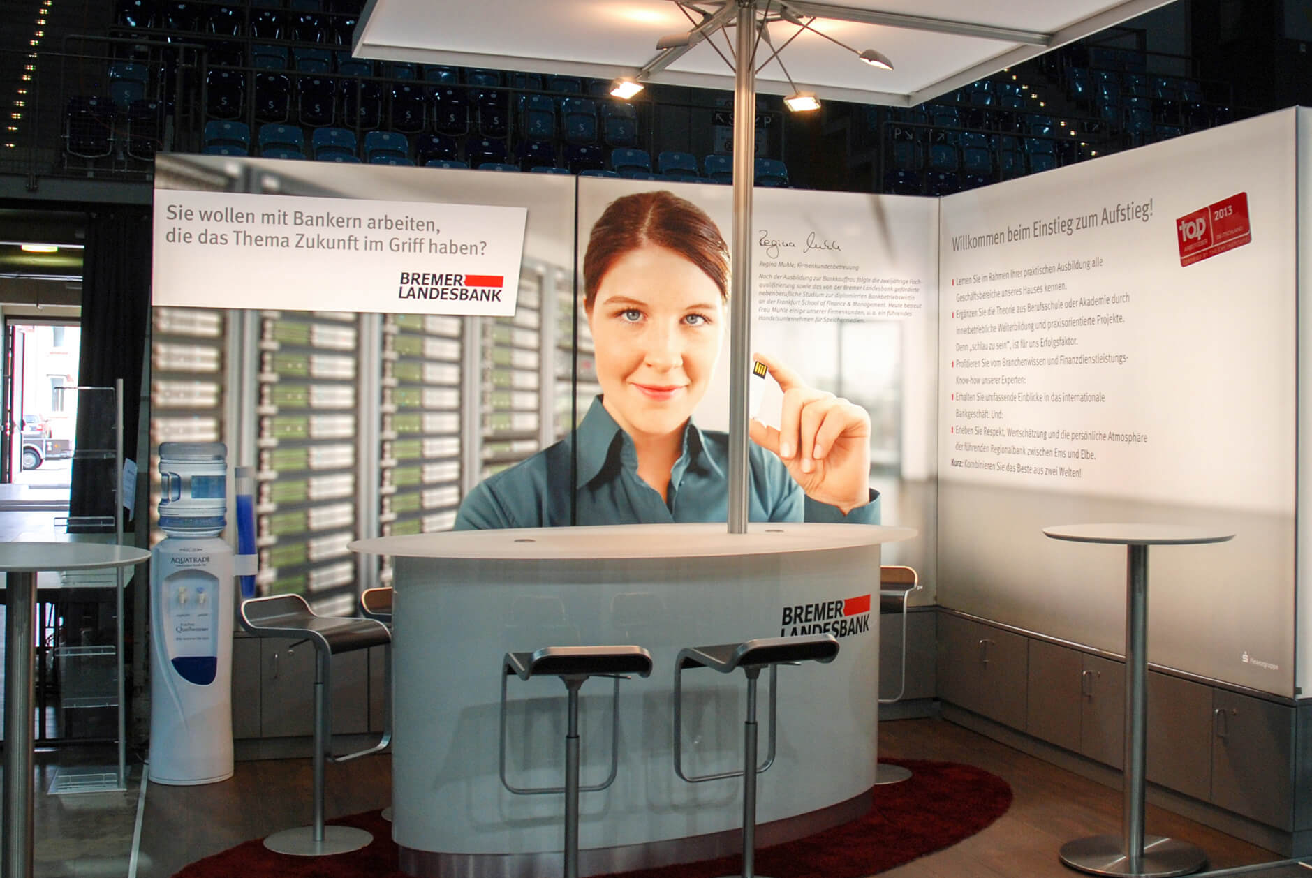 Anka Werbung - Messebau Bremen - Messebau (BLB Jobmesse)