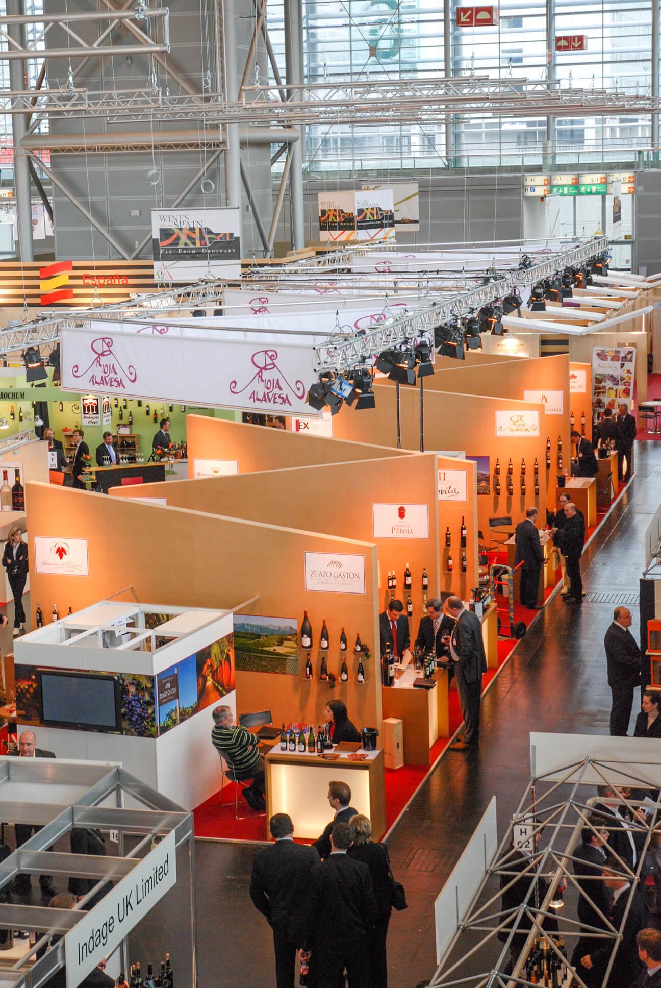 Anka Werbung - Messebau Bremen - Messebau (Rioja Alavesa ProWein)