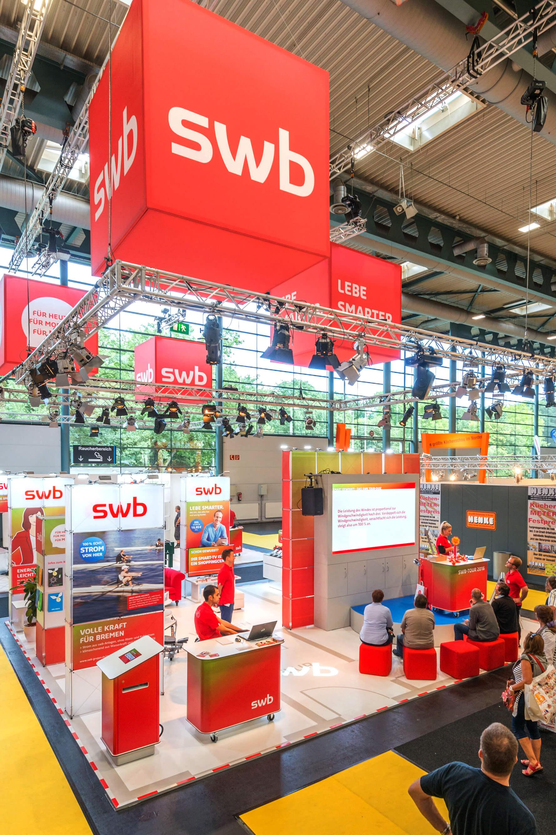 Anka Werbung - Messebau Bremen - Messebau (swb HanseLife 2016)