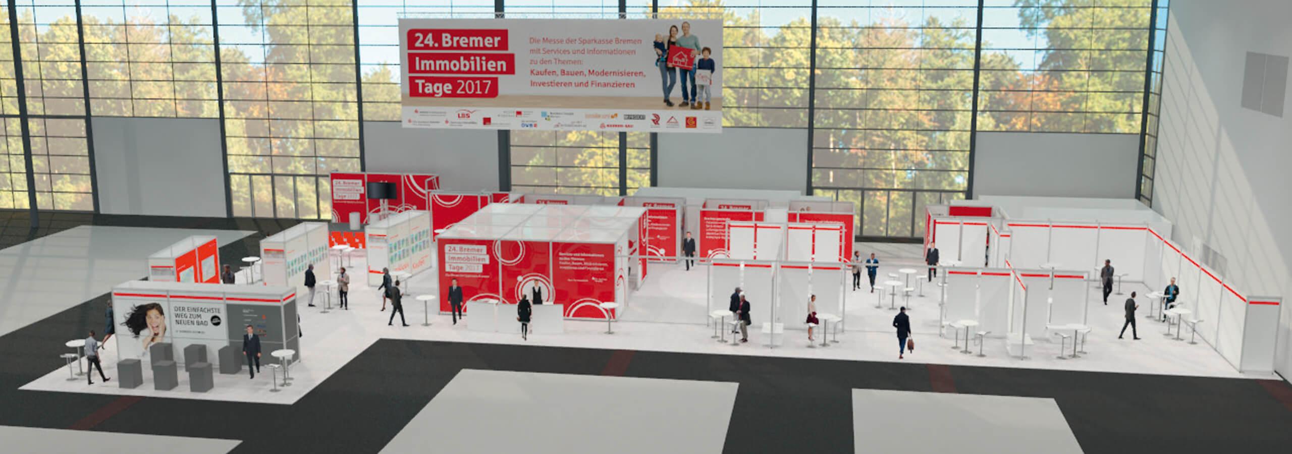 Anka Werbung - Messebau Bremen - 3D-Visualisierung