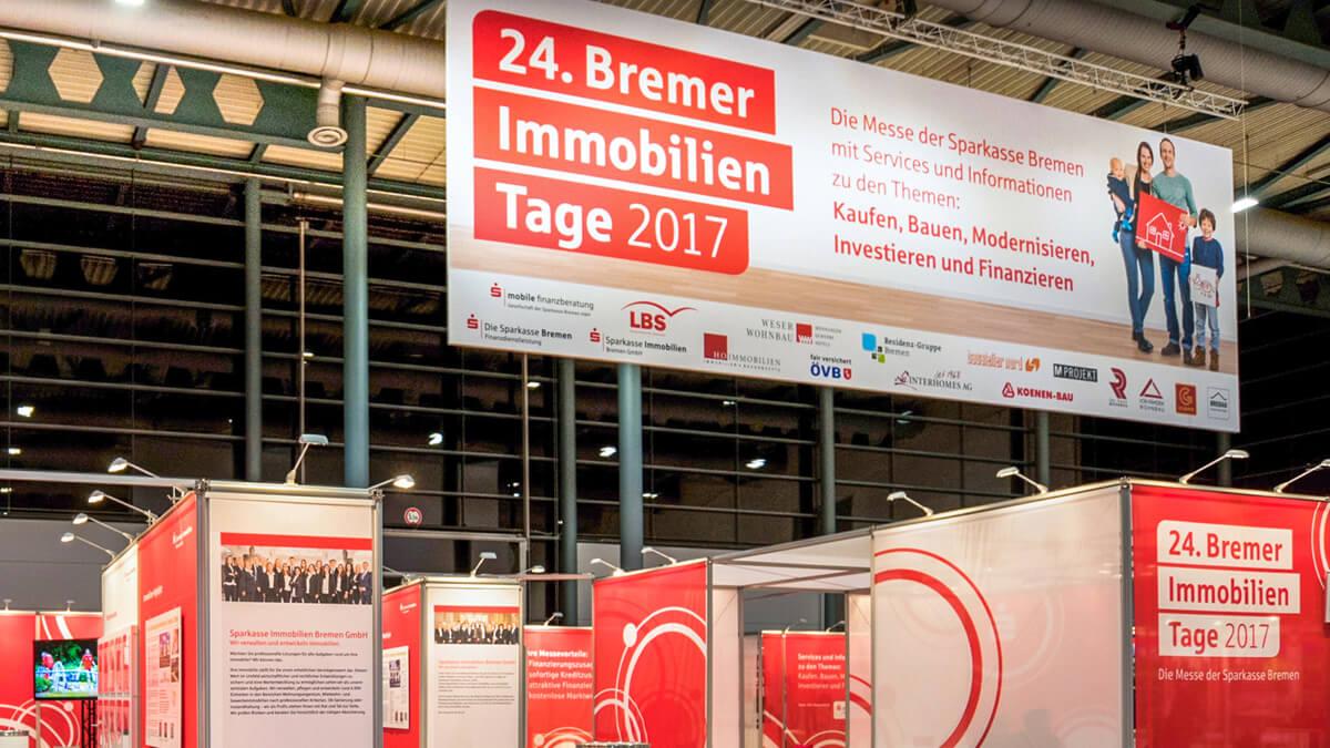 Anka Werbung - Messebau Bremen - Werbetechnik Banner - Messestand