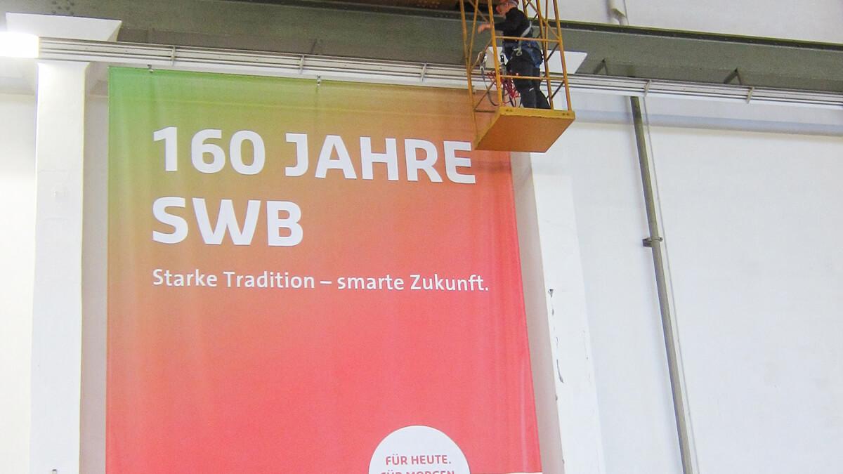 Anka Werbung - Messebau Bremen - Werbetechnik Banner - Textil Großformat
