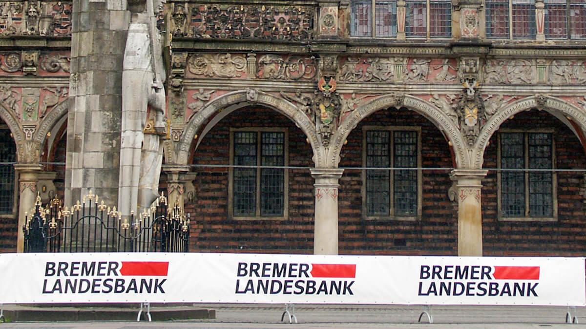 Anka Werbung - Messebau Bremen - Werbetechnik Banner - Werbeplane