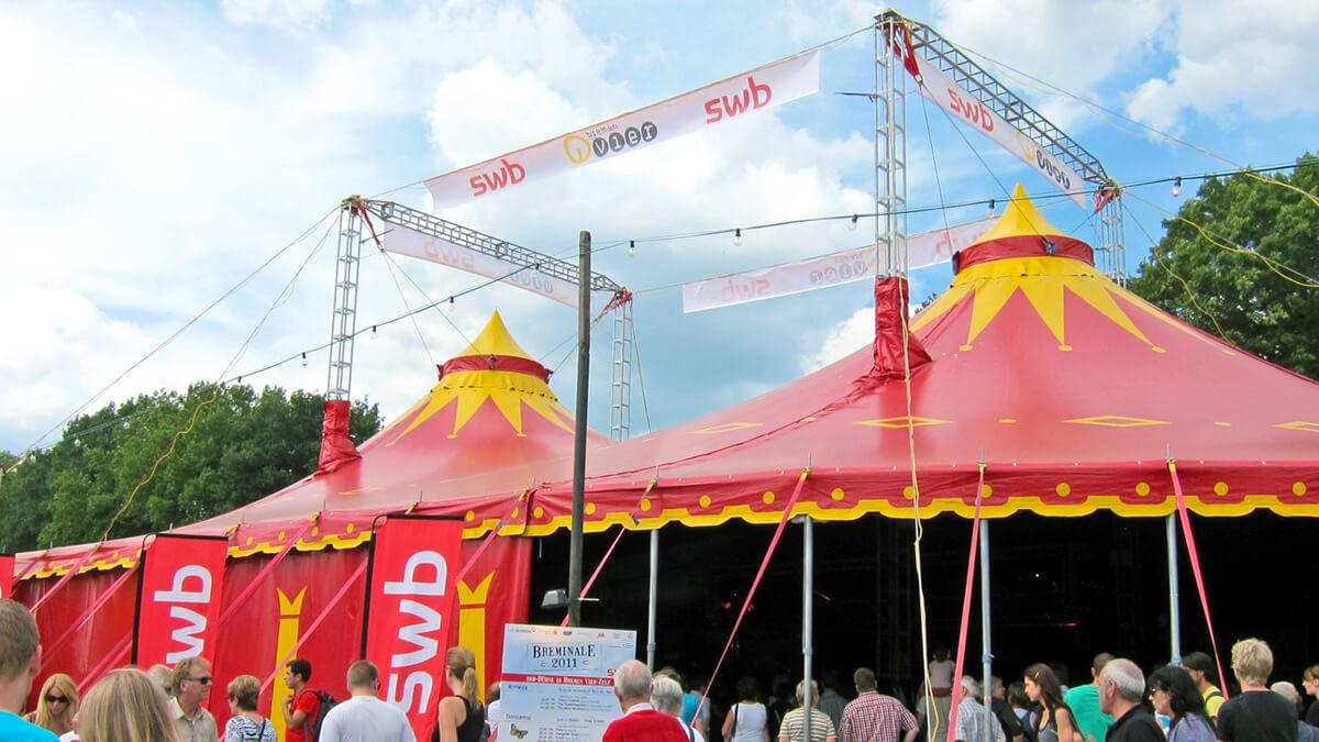 Anka Werbung - Messebau Bremen - Werbetechnik Banner - Transparent