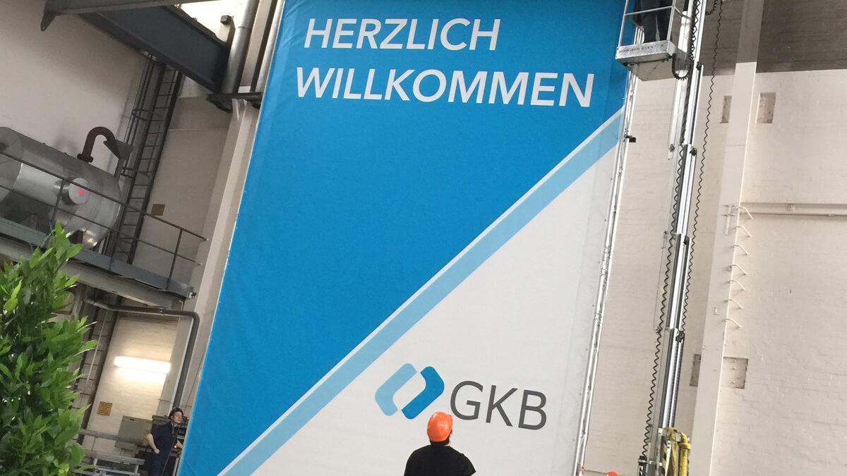 Anka Werbung - Messebau Bremen - Werbetechnik Banner - Werbebanner