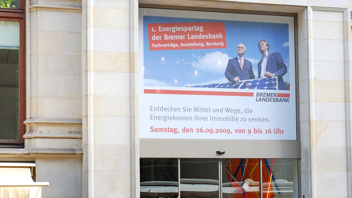 Anka Werbung - Messebau Bremen - Werbetechnik Beklebungen - Fassade