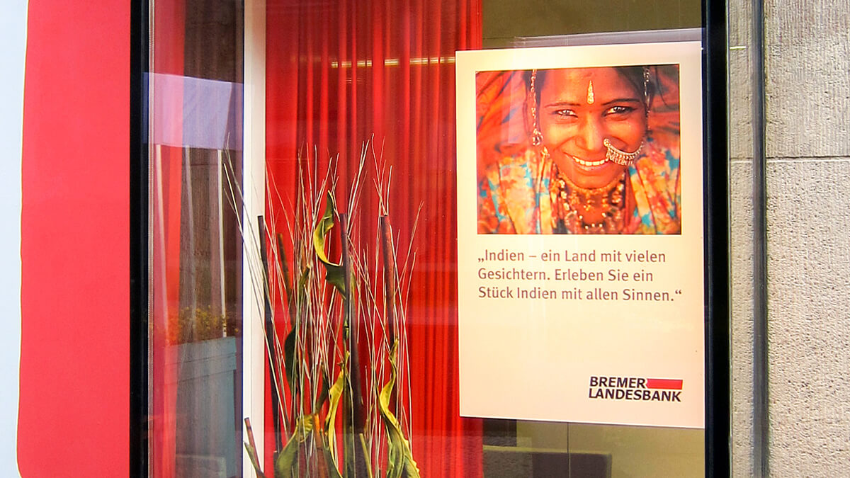 Anka Werbung - Messebau Bremen - Werbetechnik Beklebungen - Dekoration Schaufenster