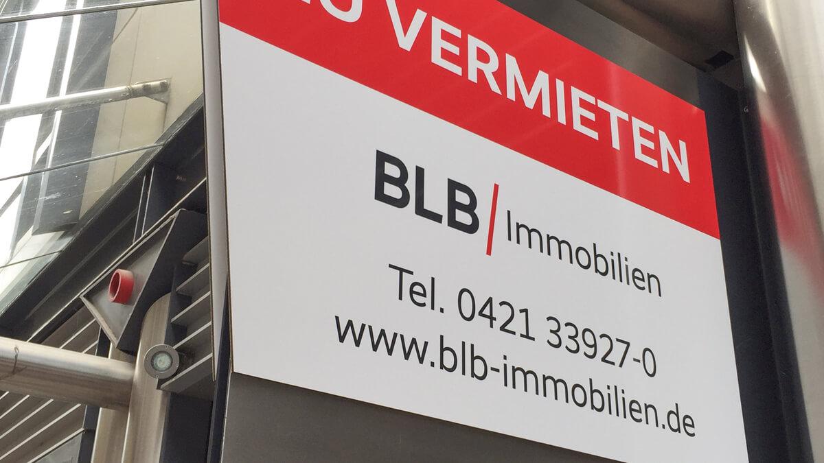 Anka Werbung - Messebau Bremen - Werbetechnik Beschilderung - Ausleger