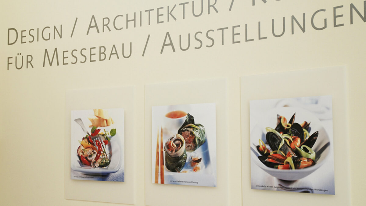 Anka Werbung - Messebau Bremen - Werbetechnik Beschilderung - Wanddesign