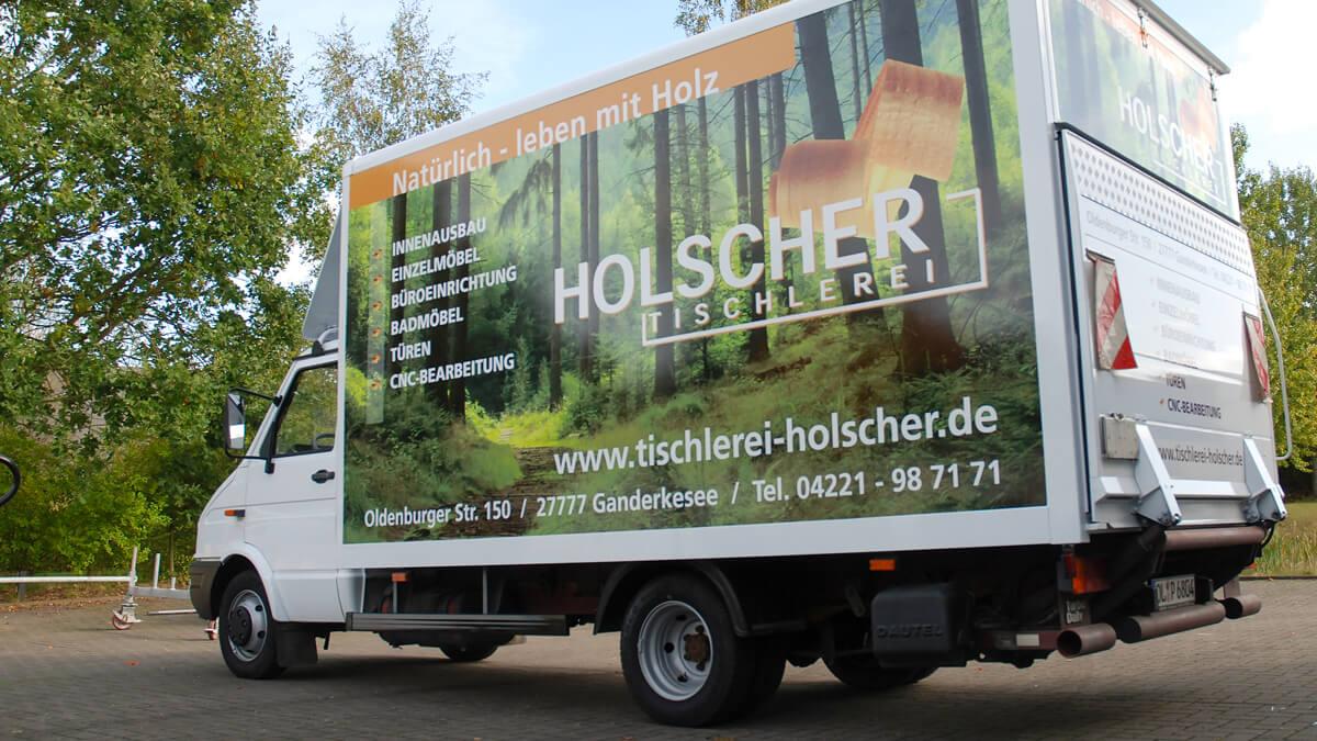 Anka Werbung - Messebau Bremen - Werbetechnik Fahrzeugbeschriftung - LKW