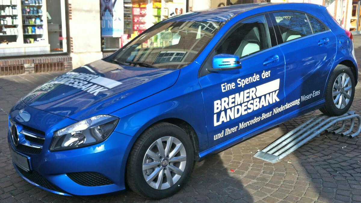 Anka Werbung - Messebau Bremen - Werbetechnik Fahrzeugbeschriftung - PKW
