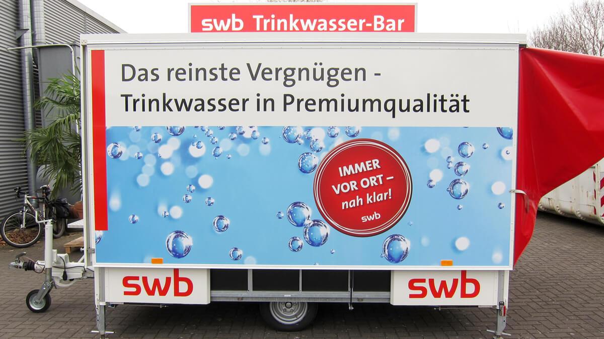 Anka Werbung - Messebau Bremen - Werbetechnik Fahrzeugbeschriftung - Getränkewagen