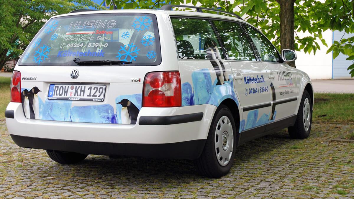 Anka Werbung - Messebau Bremen - Werbetechnik Fahrzeugbeschriftung - Firmenwagen
