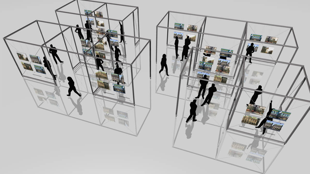 Anka Werbung - Messebau Bremen - Ausstellungen - Ausstellungsdesign (BLB Architektenwettbewerb)