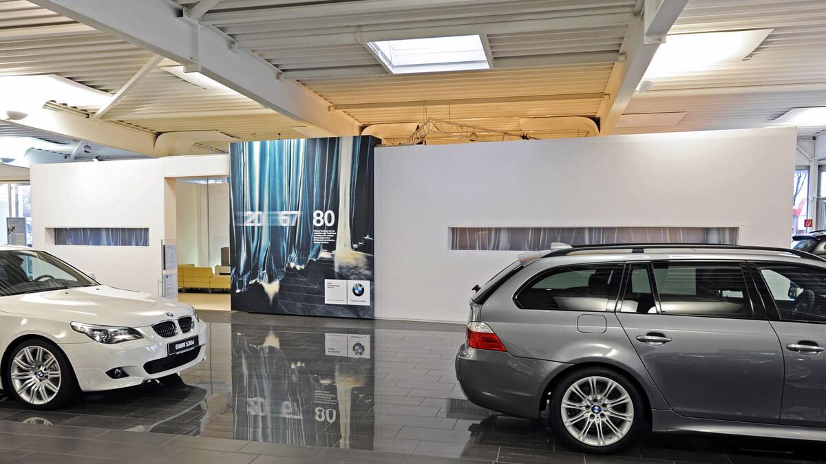 Anka Werbung - Messebau Bremen - Ausstellungen - Stand (BMW Präsentation)