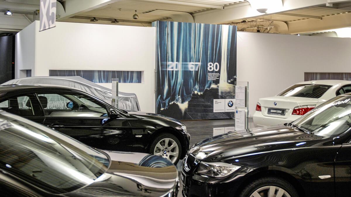 Anka Werbung - Messebau Bremen - Ausstellungen - Individualstand (BMW Präsentation)