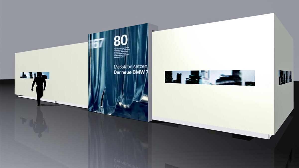 Anka Werbung - Messebau Bremen - Ausstellungen - Konzept (BMW Präsentation)