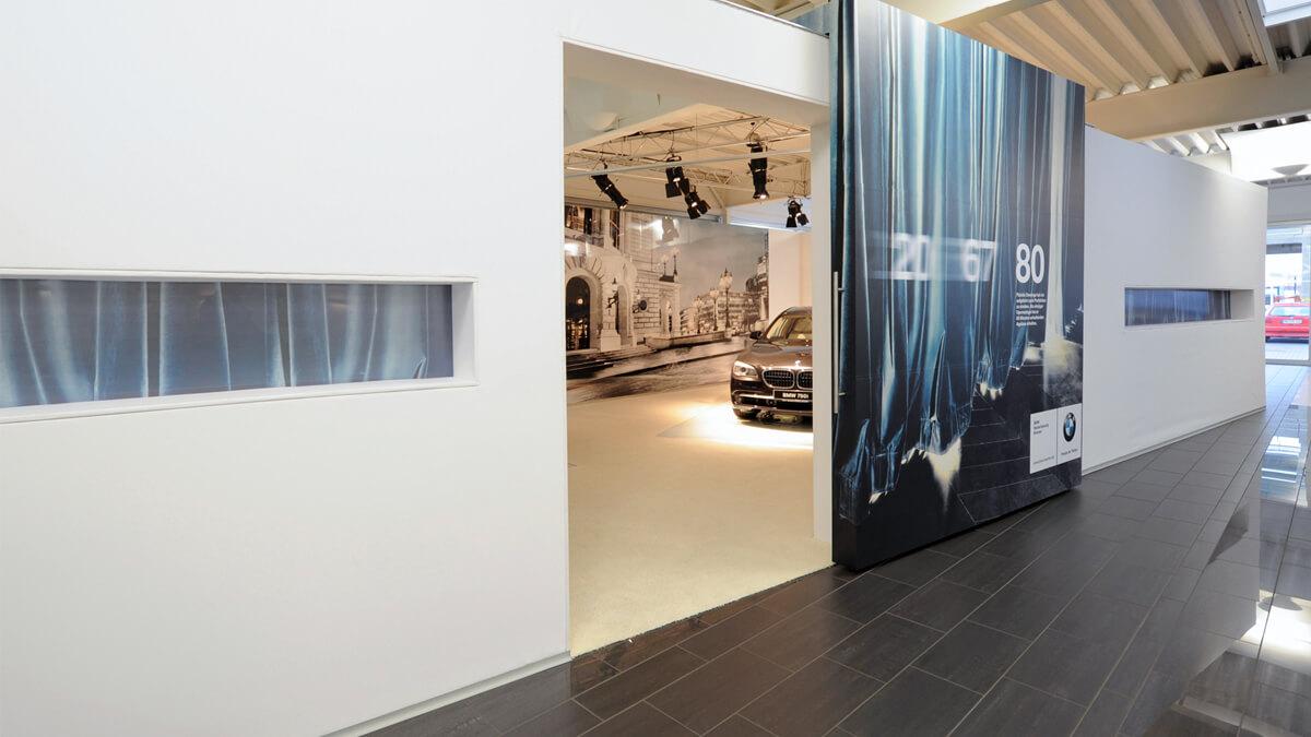 Anka Werbung - Messebau Bremen - Ausstellungen - Produktpräsentation (BMW Präsentation)