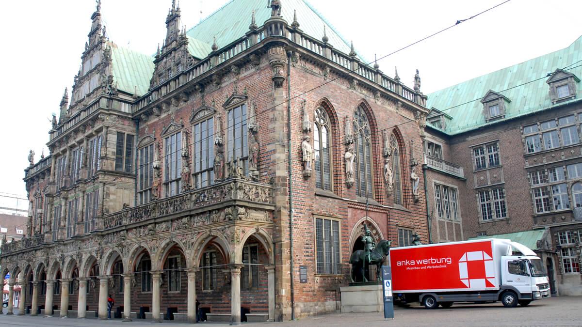 Anka Werbung - Messebau Bremen - Ausstellungen - Anlieferung (Bremer Heimstiftung)
