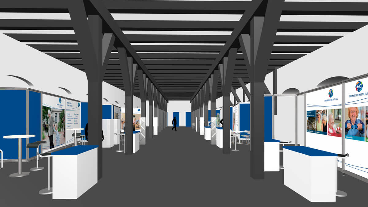 Anka Werbung - Messebau Bremen - Ausstellungen - Planung (Bremer Heimstiftung)