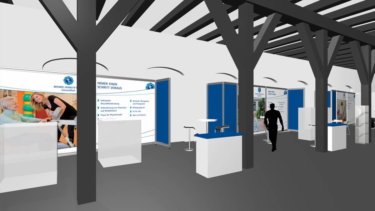 Anka Werbung - Messebau Bremen - Ausstellungen - Ausstellungsgestaltung (Bremer Heimstiftung)