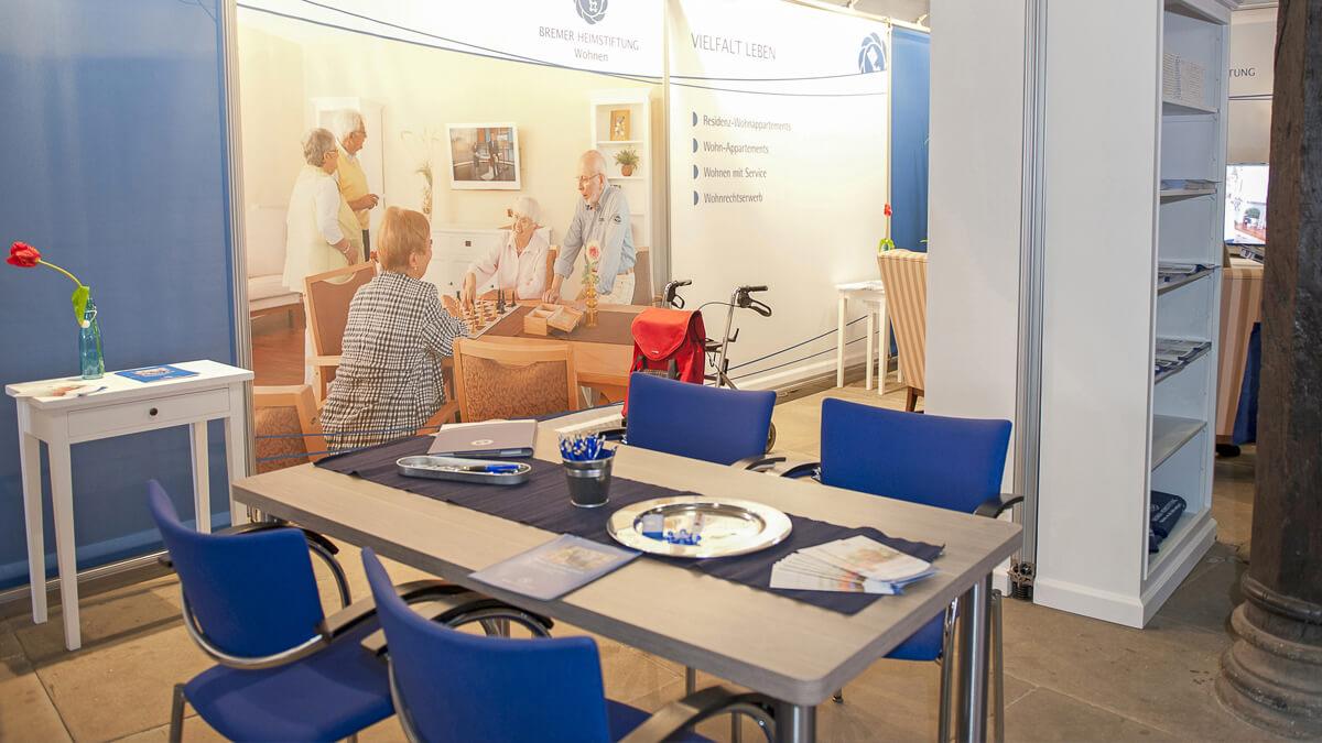 Anka Werbung - Messebau Bremen - Ausstellungen - Ausstattung (Bremer Heimstiftung)