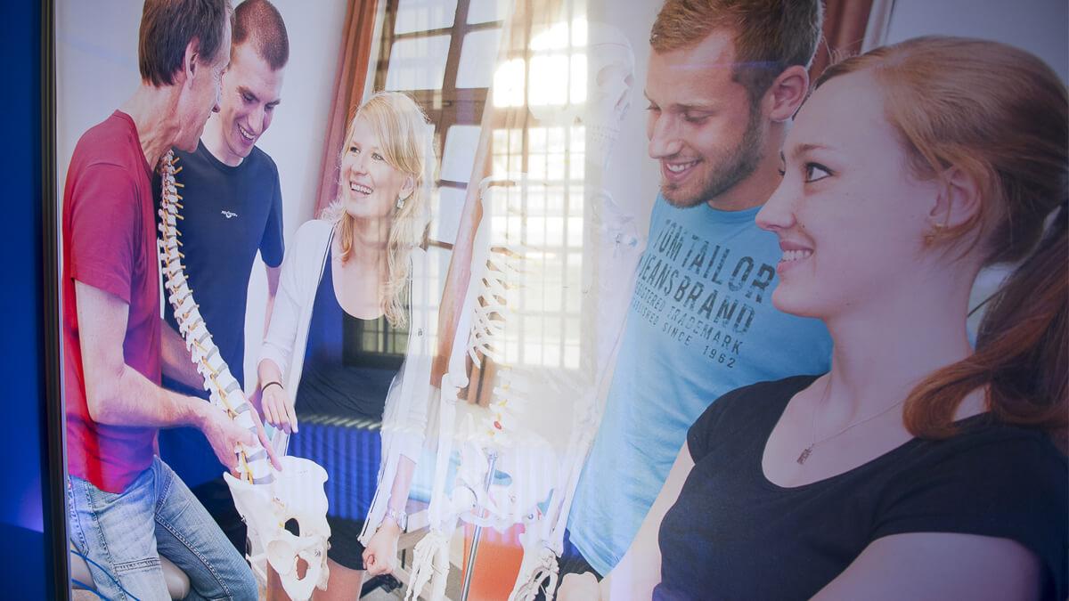 Anka Werbung - Messebau Bremen - Ausstellungen - Textilbespannung (Bremer Heimstiftung)