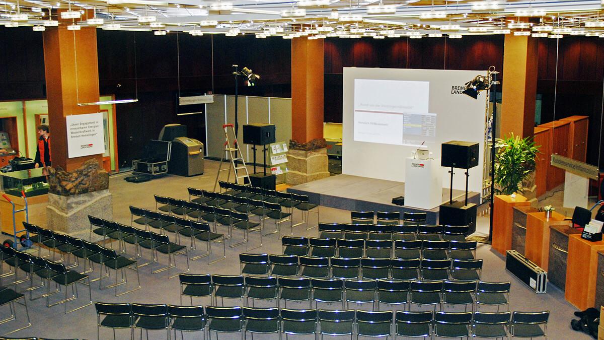 Anka Werbung - Messebau Bremen - Ausstellungen - Events - Podium