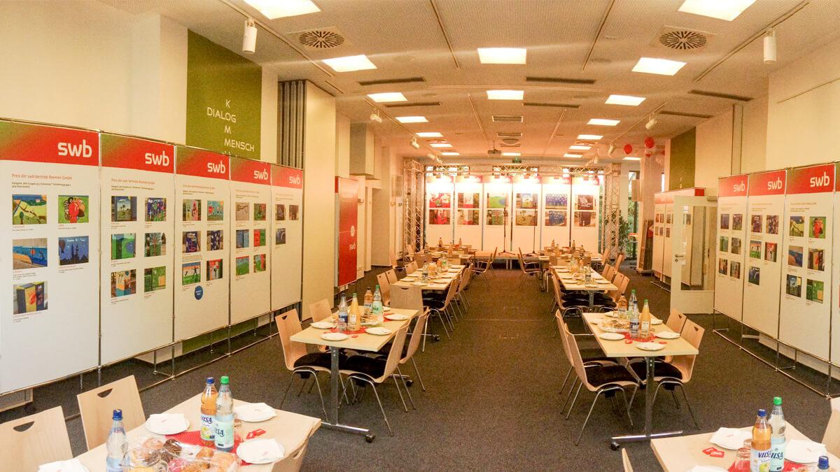 Anka Werbung - Messebau Bremen - Ausstellungen - Events - Displaywand
