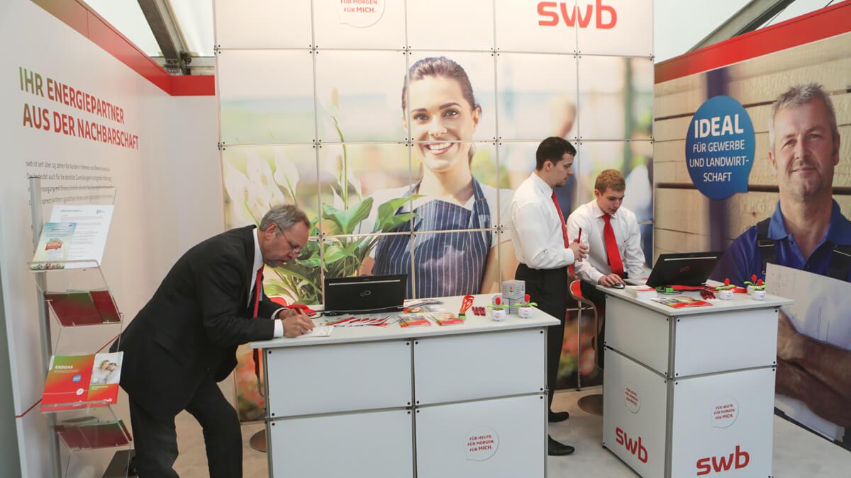 Anka Werbung - Messebau Bremen - Ausstellungen - Events - Stand kompakt