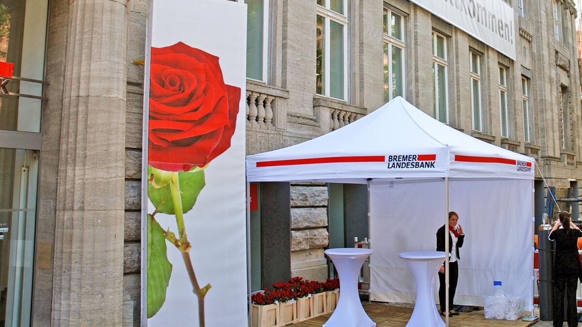 Anka Werbung - Messebau Bremen - Ausstellungen - Events - Outdoor Pavillon