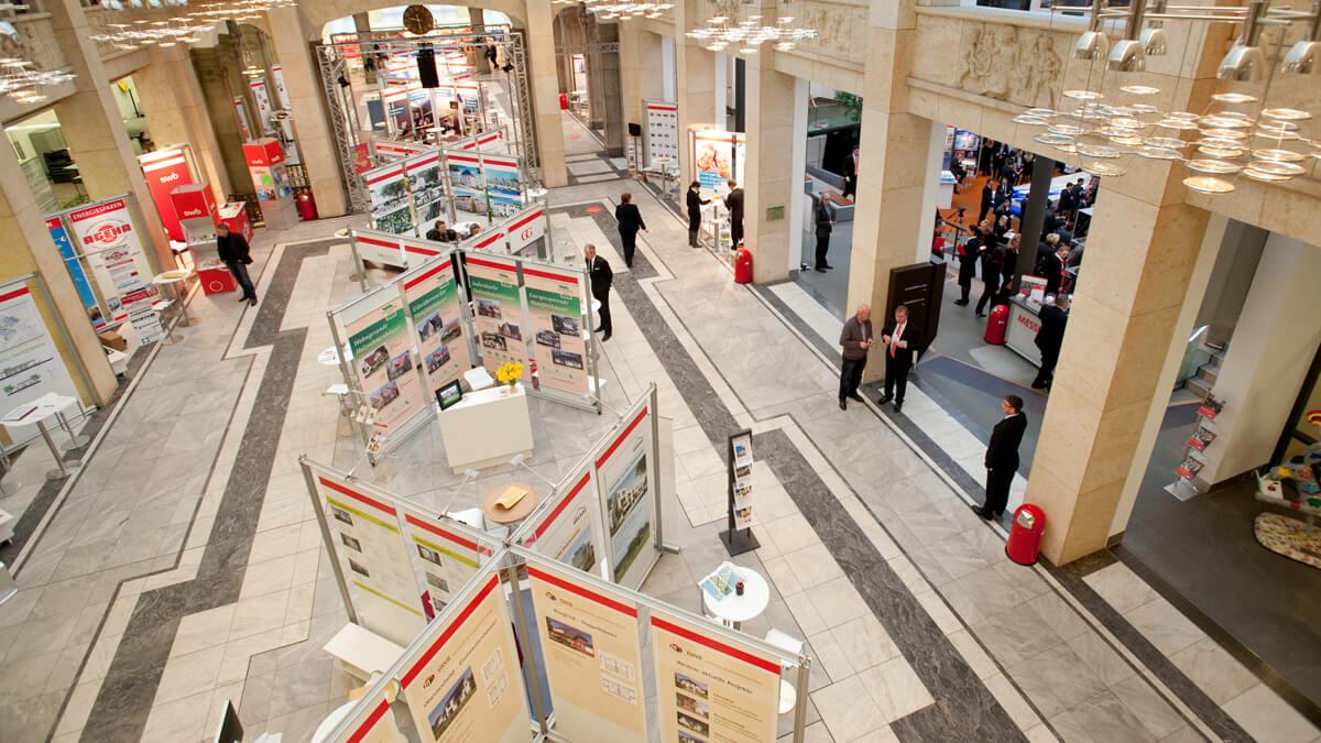 Anka Werbung - Messebau Bremen - Ausstellungen - Ausstellungsraum (Sparkasse Bremer Immobilientage 2011)
