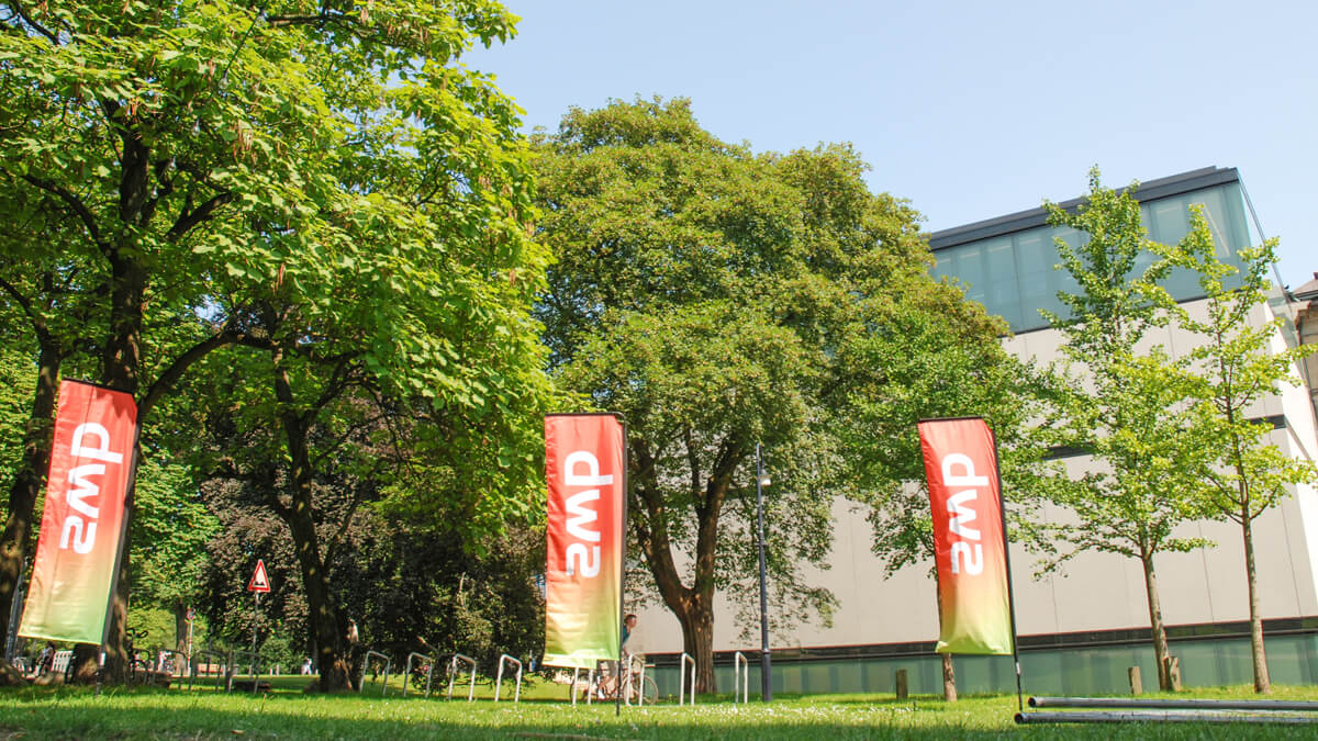 Anka Werbung - Messebau Bremen - Ausstellungen - Flags (swb Breminale)