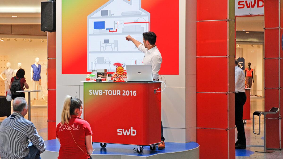 Anka Werbung - Messebau Bremen - Ausstellungen - Präsentation (swb Tour)