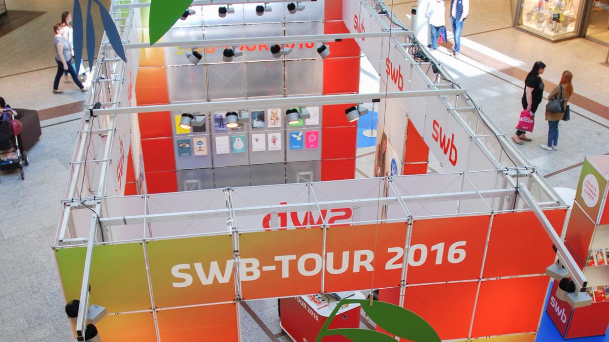 Anka Werbung - Messebau Bremen - Ausstellungen - Pila System (swb Tour)