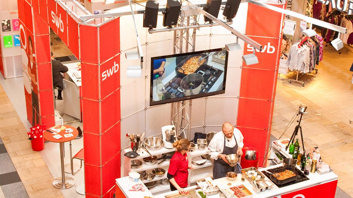 Anka Werbung - Messebau Bremen - Ausstellungen - Live-Präsentation (swb Tour)