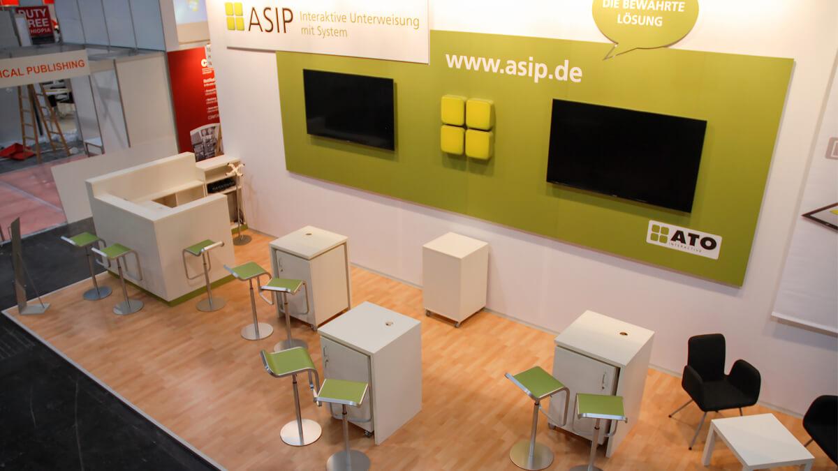 Anka Werbung - Messebau Bremen - Messebau - Messestand (ATO A+A)