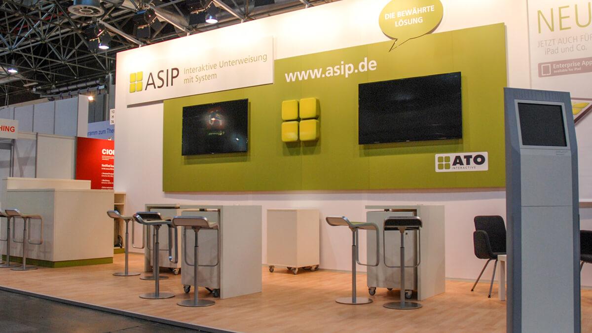 Anka Werbung - Messebau Bremen - Messebau - Individuelle Messearchitektur (ATO A+A)